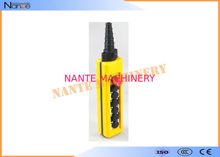 Anti - Collision Overhead Crane Pendant Control For Construction Machinery