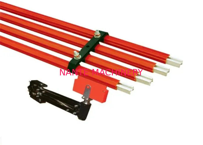 Seamless Power Supply Overhead Crane Spare Parts Bus Bar Rail Conductor