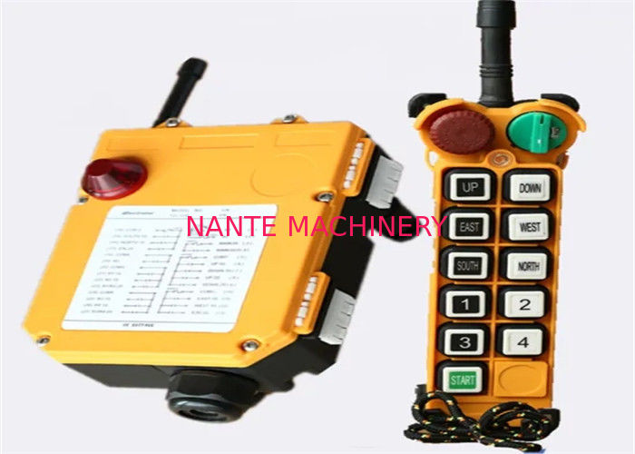 F24-10s AC 220V Single Speed Tower Crane Components Radio Telecrane Remote Controller