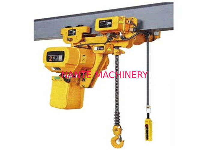 2 Ton 3m 220v Low Headroom Electric Chain Hoist