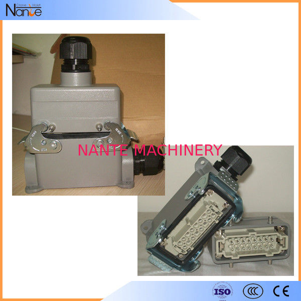 Electrical 16 Pin Plug In Pendent Festoon Cable Trolley For Flat Cable